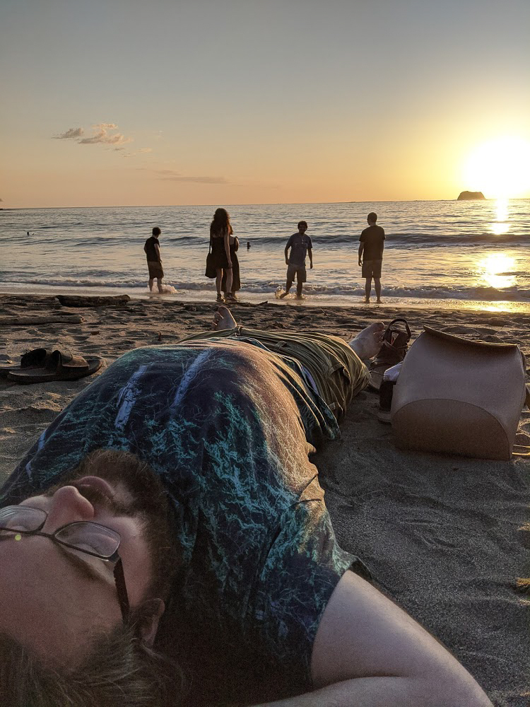 Playa Carillo Sunset
